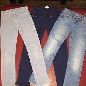 Girls size 10 bundle(Gap,Cat & Jack) pants & Dress